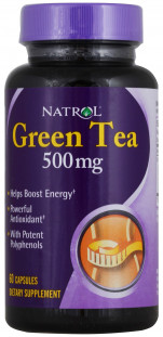 Natrol Green Tea 500 мг (60 кап)