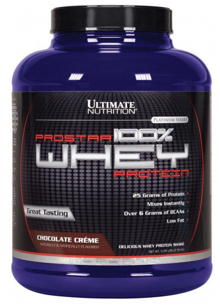 Протеин Ultimate Nutrition Prostar 100% Whey Protein 5lb (2390 г)