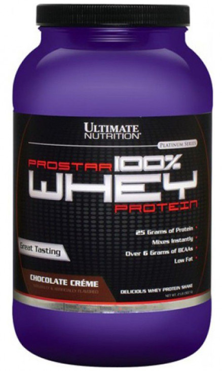 Протеин Ultimate Nutrition Prostar 100% Whey Protein 2 lb (907 г)