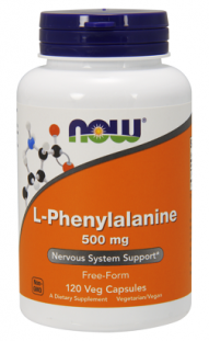 NOW L-Phenylalanine 500 мг (120 кап)