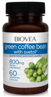 BIOVEA Green Coffee with Stevol 800 mg (60 кап)