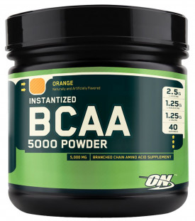 Optimum Nutrition BCAA 5000 Powder (380 г)