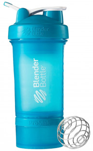 Шейкер BlenderBottle ProStak бирюзовый (624 мл)+2 контейнера
