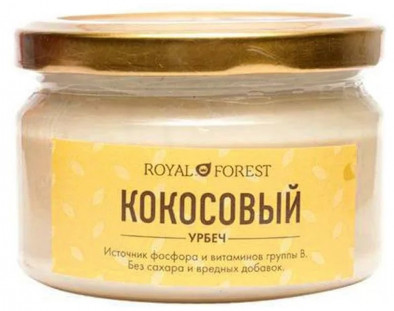 Royal Forest Кокосовый урбеч 200гр
