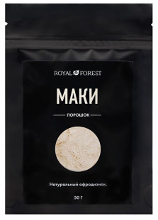 Royal Forest порошок маки (50 г)
