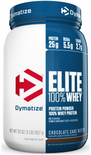 Протеин Dymatize Nutrition Elite Whey 2lb (908 г)