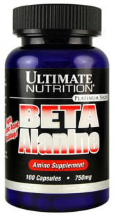 Ultimate Nutrition Beta Alanine (750 мг) 100 кап